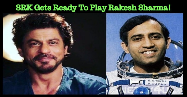 SRK Gets Ready To Play Rakesh Sharma!