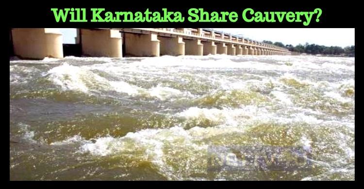 Will Karnataka Share Cauvery As Per CRMA's Direction?