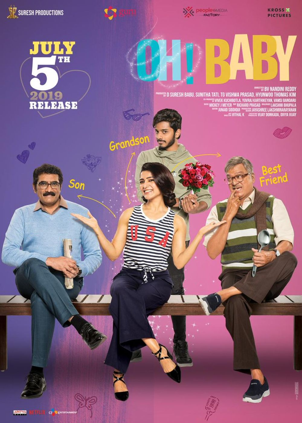 Oh Baby Movie Review Telugu Movie Review