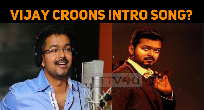 Vijay Sings The Intro Song In Bigil!