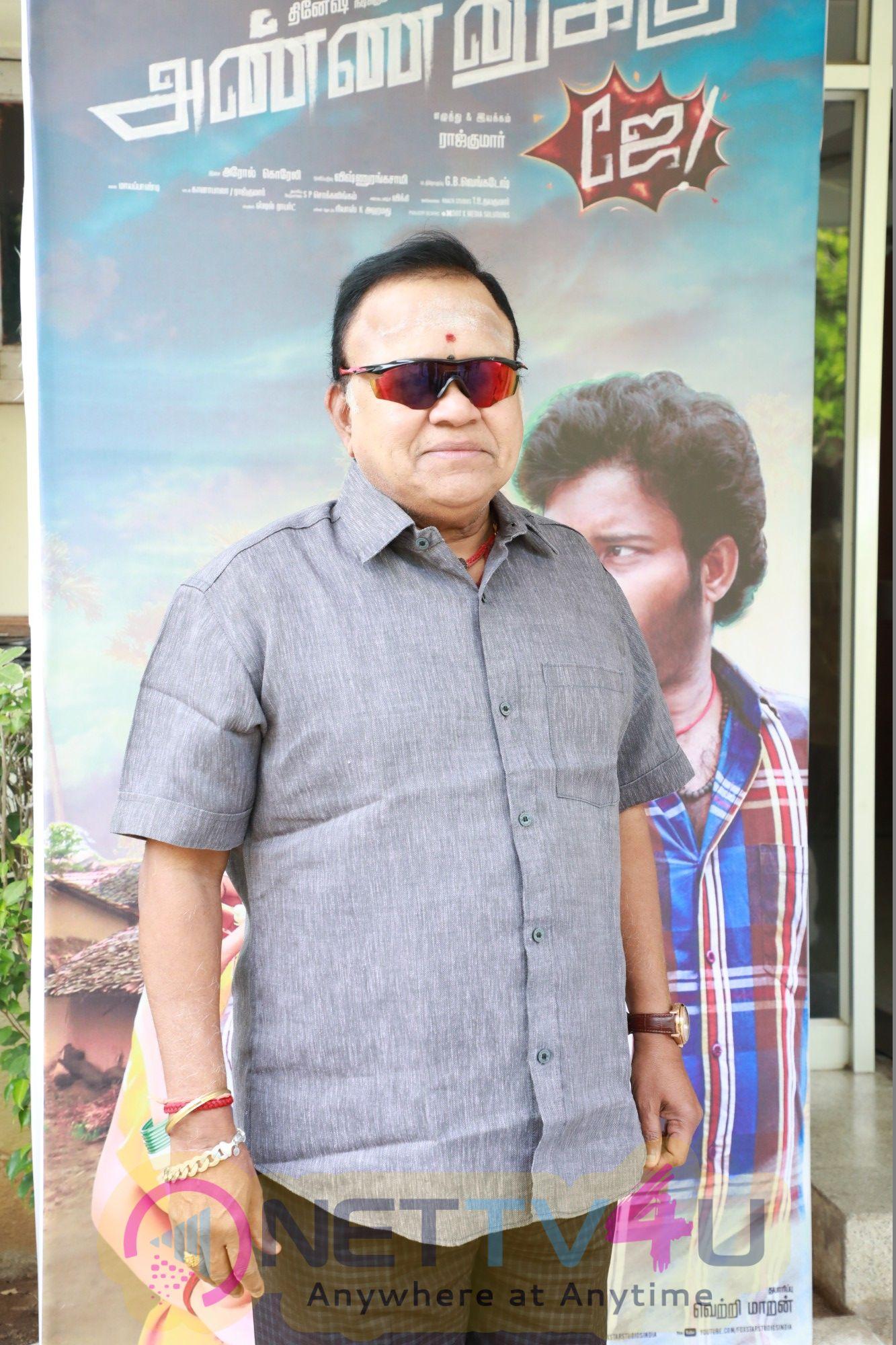 Annanukku Jai Movie Press Meet Images