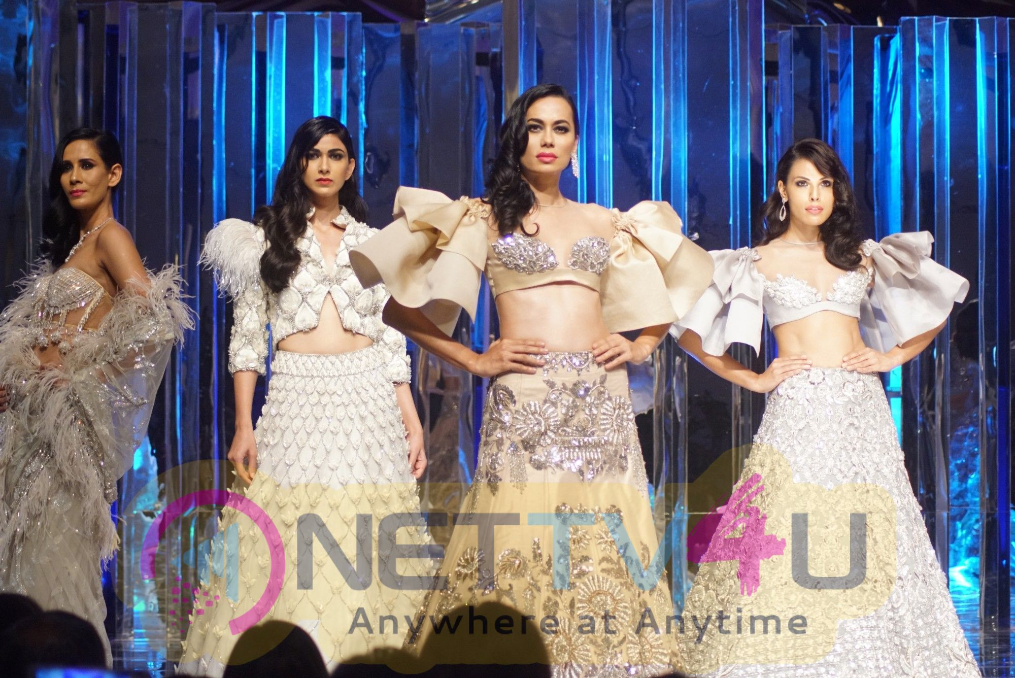 Red Carpet For Manish Malhotra New Collection Haute Couture Stills Hindi Gallery