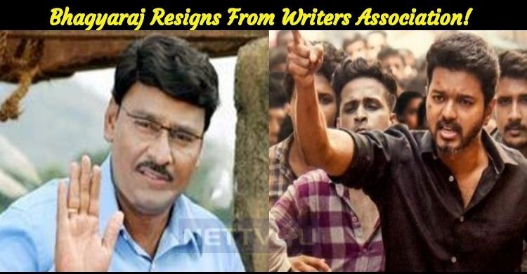 Bhagyaraj Resigns From South Indian Film Writers Association!
