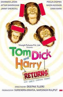 Tom Dick And Harry Returns Movie Review