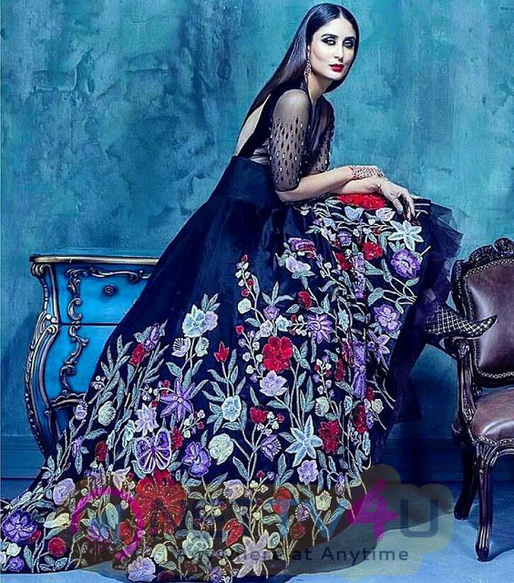 Kareena Kapoor Poses For Harpers Bazaar Bride Magazine PhotoShoot