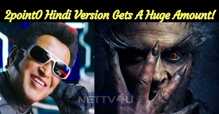 2point0 Hindi Version Gets A Stunning Box Office Amount!