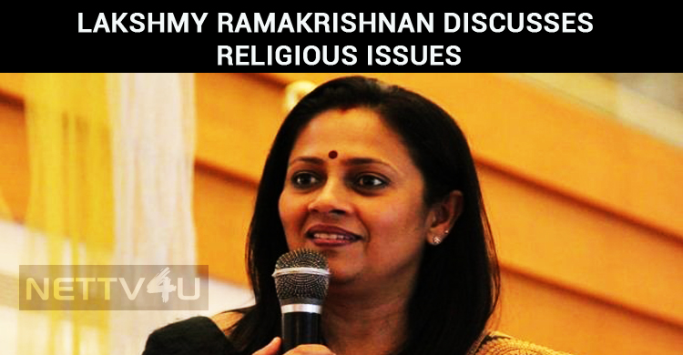 Lakshmy Ramakrishnan Discusses With Her Followers!