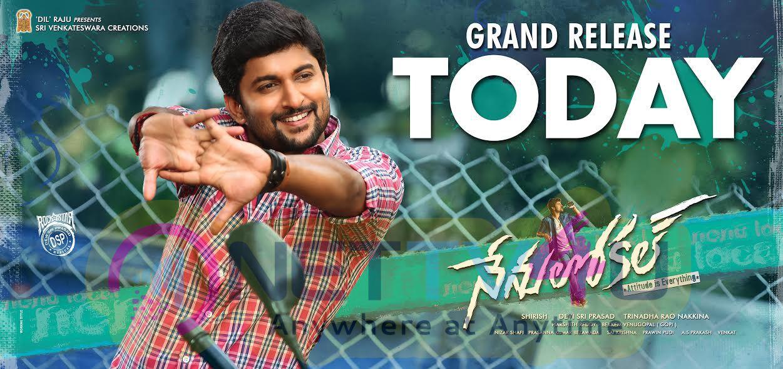 Nenu Local Telugu Movie Release Wallpaper