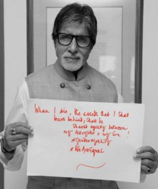 Amitabh Bachchan Declares The Partition Of His ..