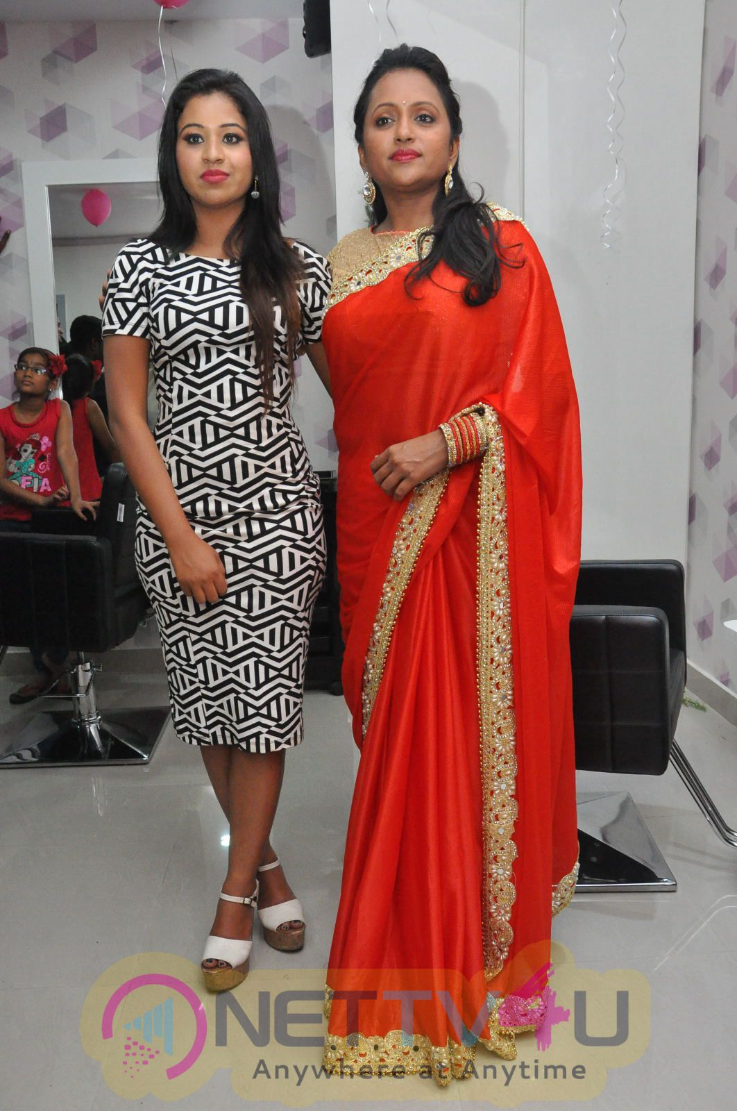 Makeover Studio Salon Launch By Suma Kanakala At Manali Rathod