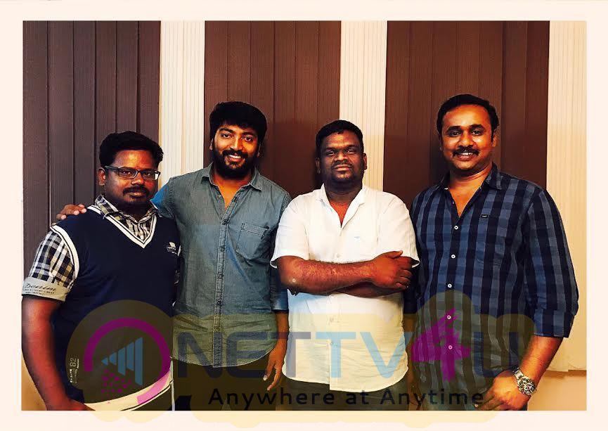 Sakthi Film Factory Releasing Yeidhavan Movie Poster And Photo
