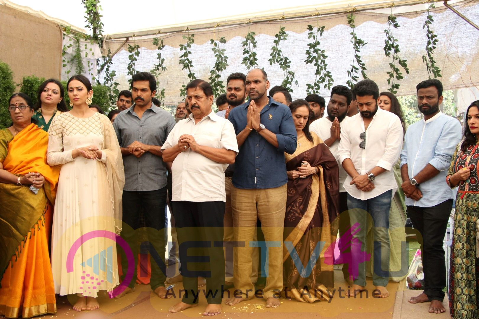 Karthi17 New Movie Starts With Formal Launch In Chennai