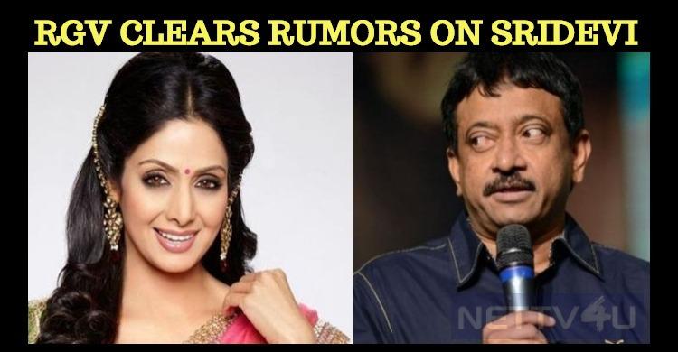 Rumors On Sridevi! Denies The Director!