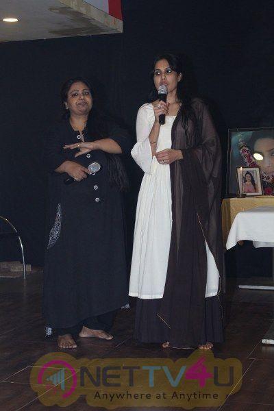 Pratyusha Banerjee Prayer Meet With Kamya Punjabi Pics