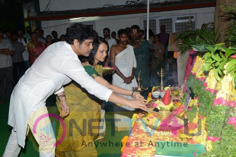 Akhil Akkineni New Movie Opening Ceremony