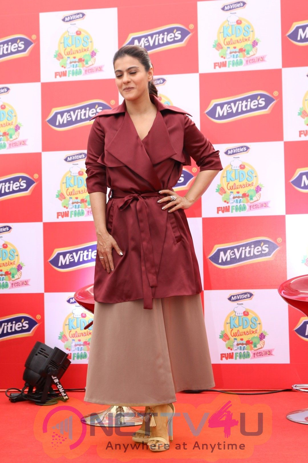 Launch Of New Product McVites With Kajol Photos