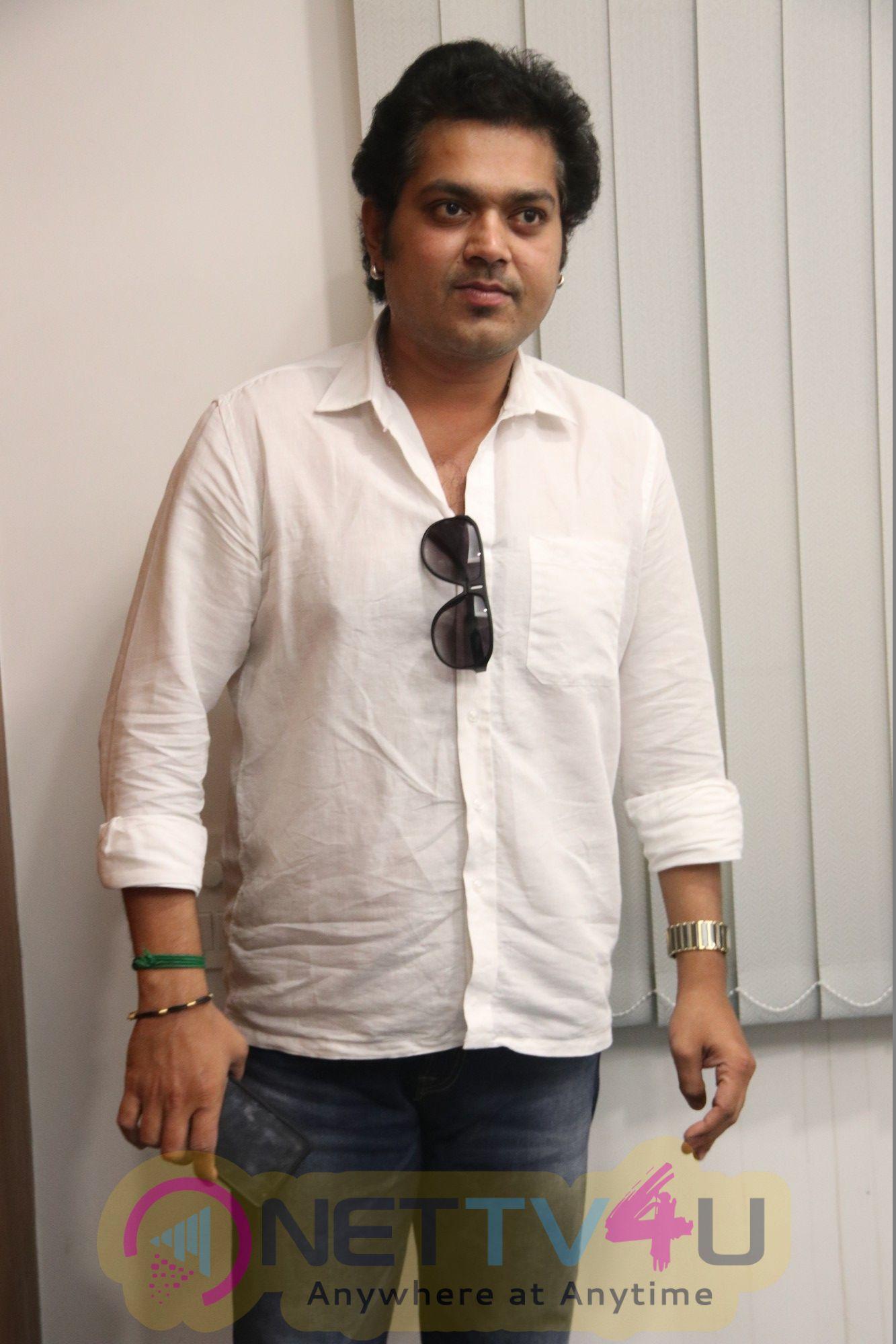 Shivalinga Movie Press Meet Beautiful Photos