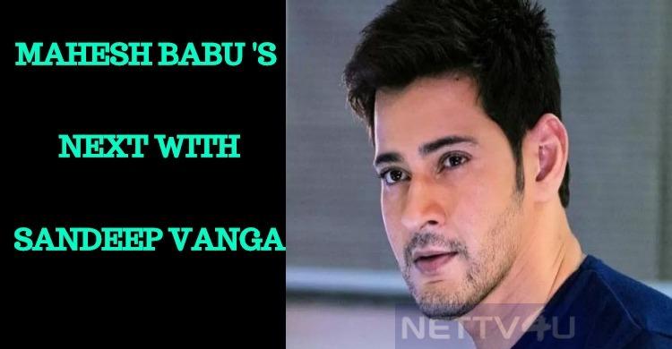 Mahesh Babu In Arjun Reddy Director's Next?