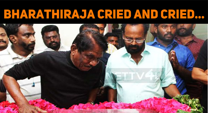 Bharathiraja Cried And Cried… Couldn't Bear Mah..