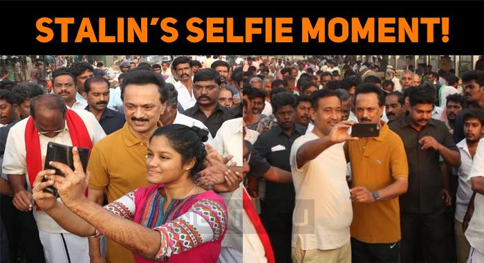 Stalin's Selfie Moment!