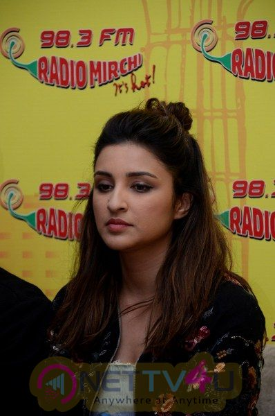 Meri Pyaari Bindu Promotion In  Radio Mirchi Studio With Celebs