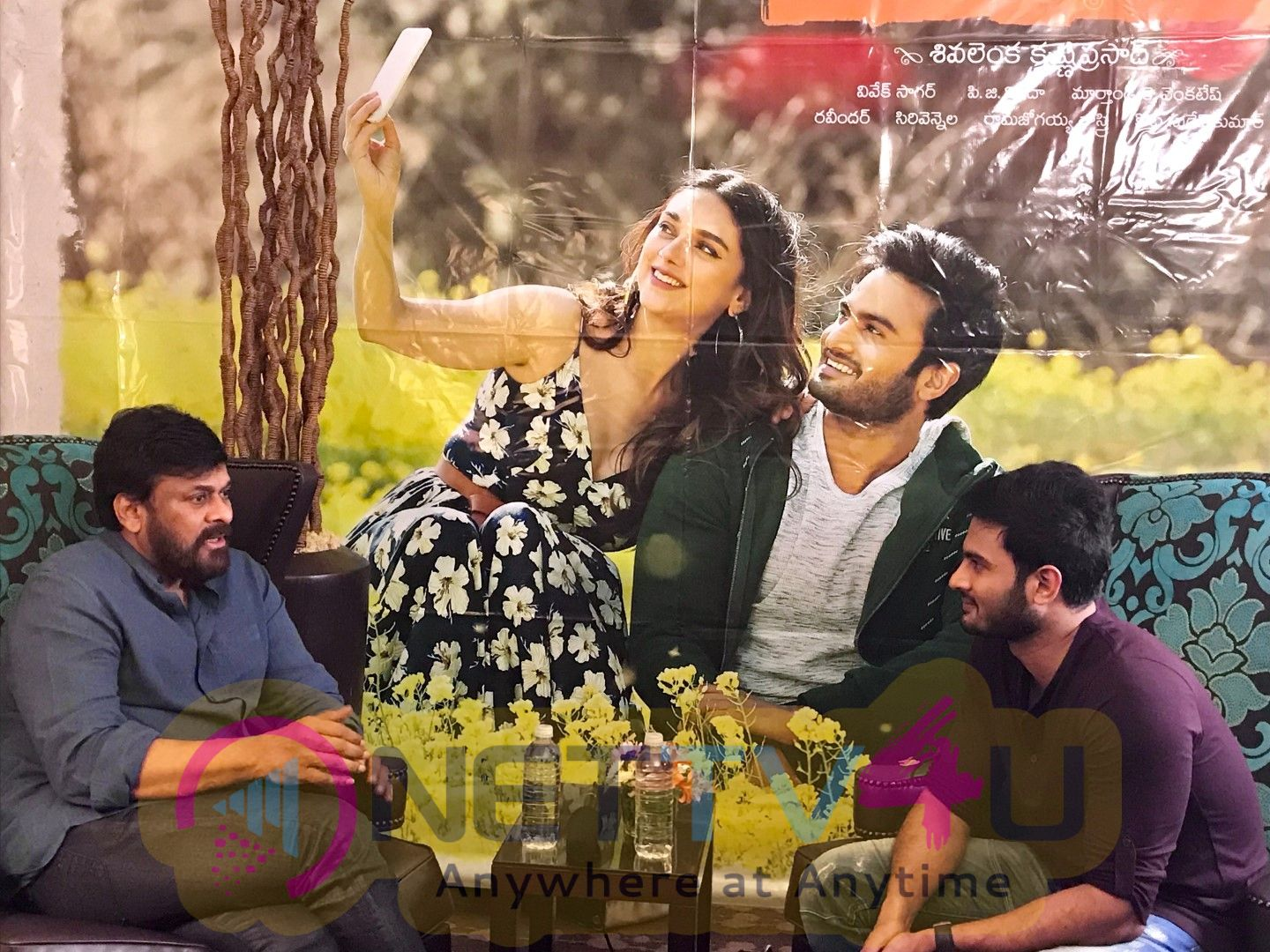 Sammohanam Teaser Launched By Chiranjeevi Pics