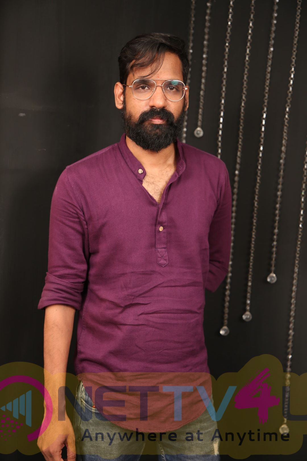 Anchor Kamal Dhandapani Exclusive Interview Stills Tamil Gallery