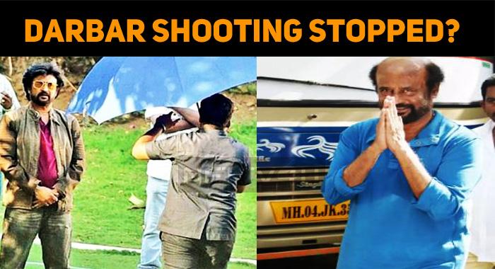 Darbar Shooting Stopped?