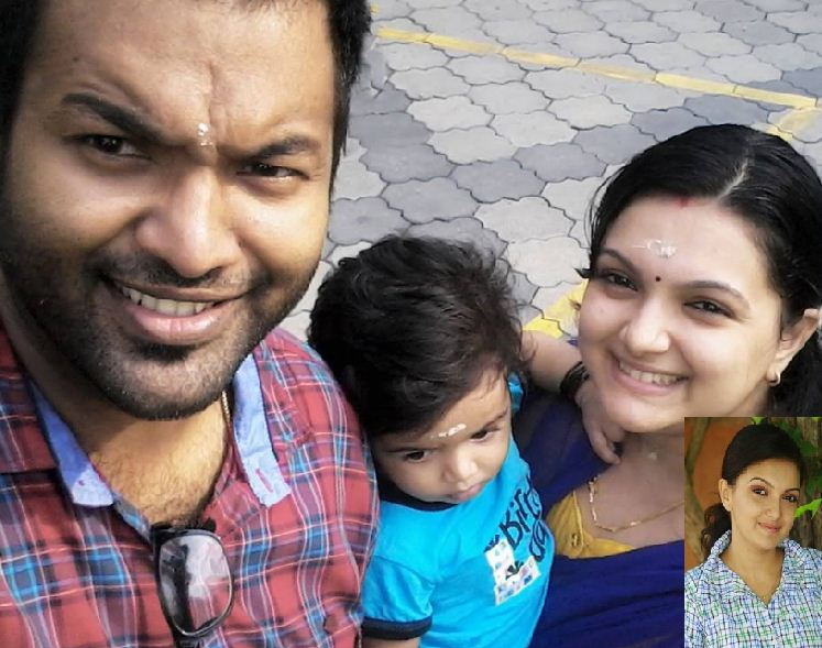 Saranya Mohan Is Cute Even After Child Birth!