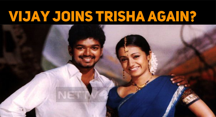 Trisha Joins Vijay Again?