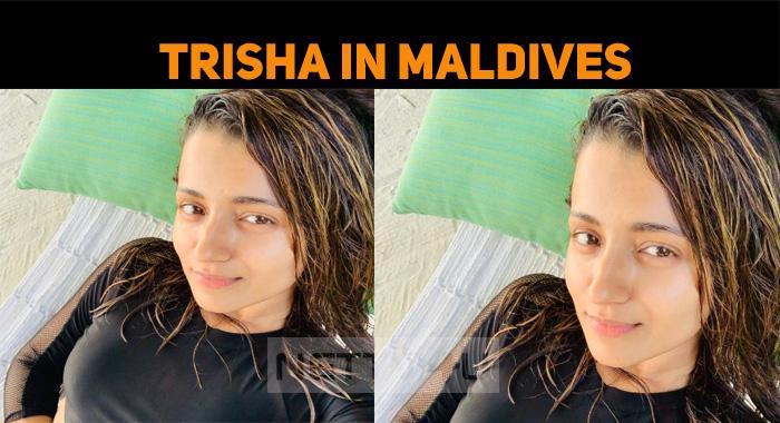 Trisha Enjoying Her Holiday In Maldives!