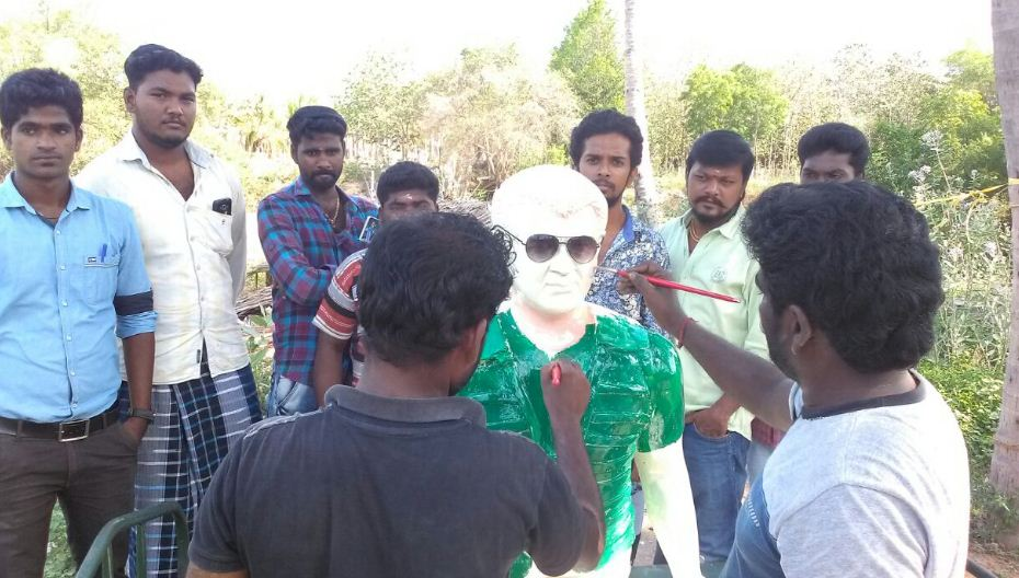 Ajith Statue To Be Unveiled Today!