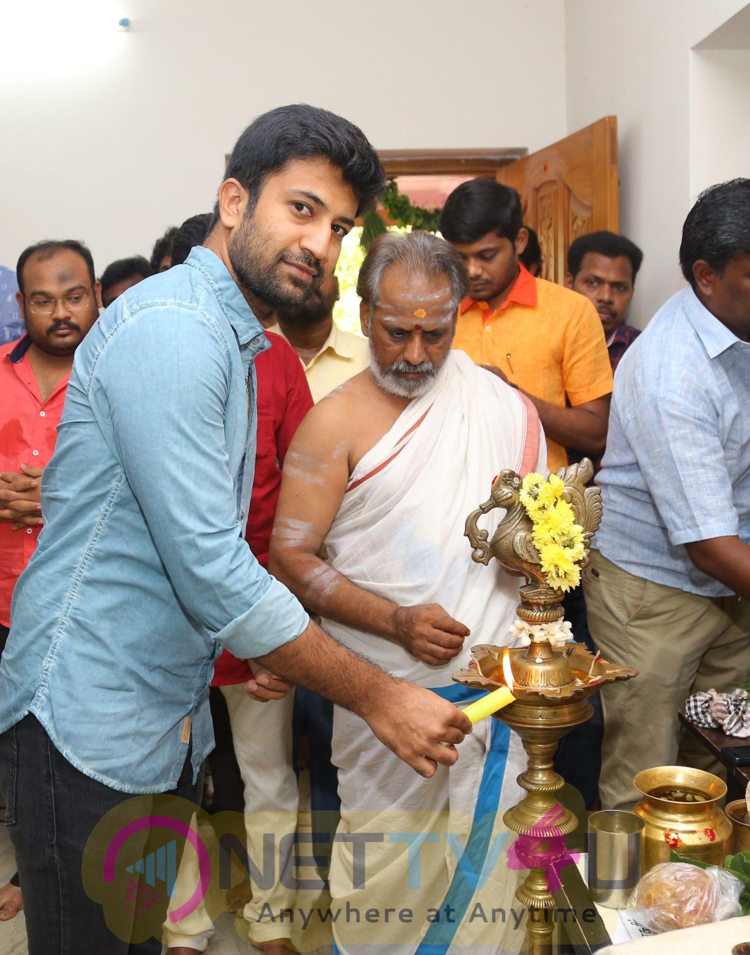 Jango Movie Pooja Stills Tamil Gallery