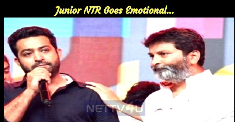 Junior NTR Goes Emotional…