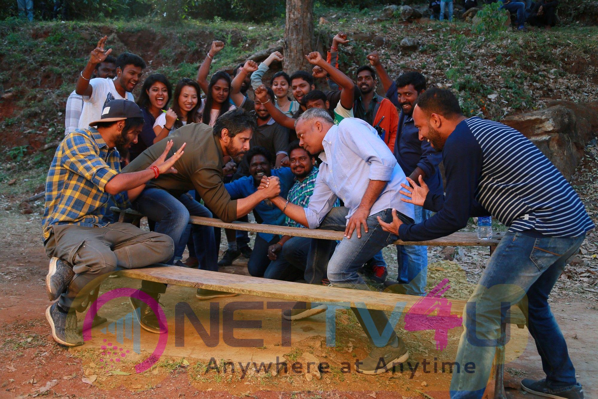 Dhruva Natchathiram Movie Working Stills