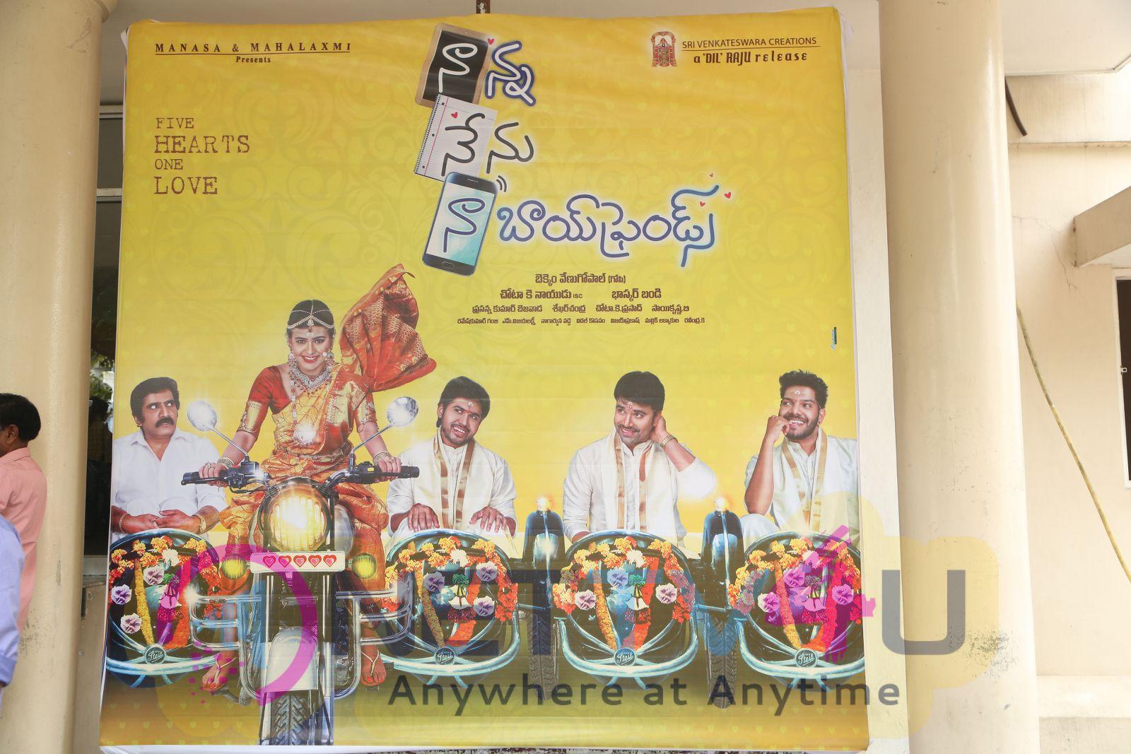 Nanna Nenu Naa Boy Friends Press Meet Graceful Photos Telugu Gallery