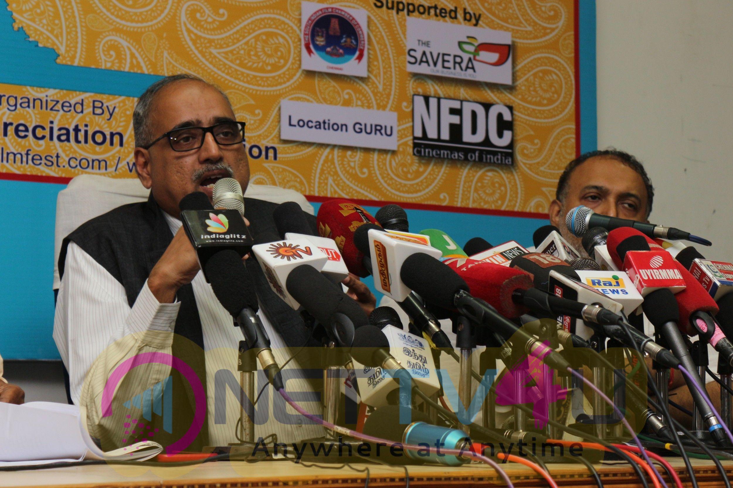 16th Chennai International Film Festival Press Meet Photos
