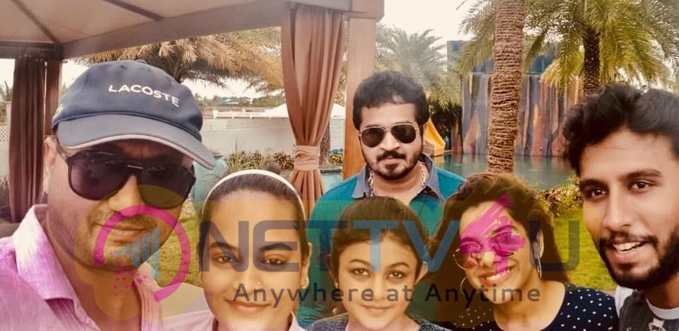 Actress Suja Varunee Outing After The Marriage Photos