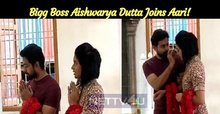 Bigg Boss Aishwarya Dutta Joins Aari!