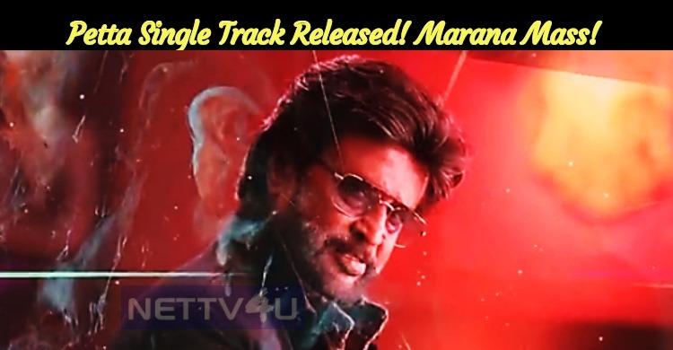 Petta Single Track Released! Marana Mass! Anirudh - SPB Rock!