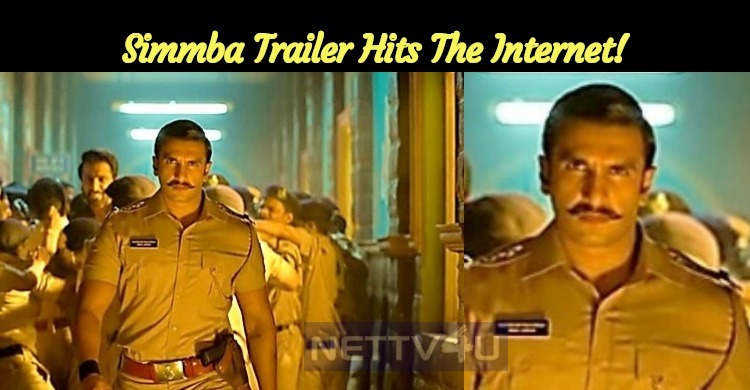 Simmba Trailer Hits The Internet!