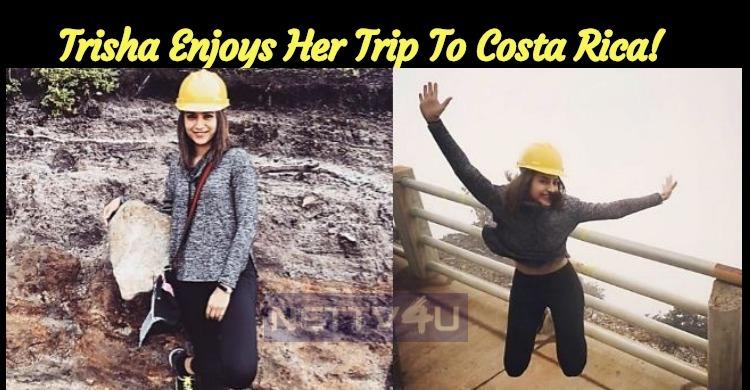 Trisha Enjoys Her Trip To Costa Rica!