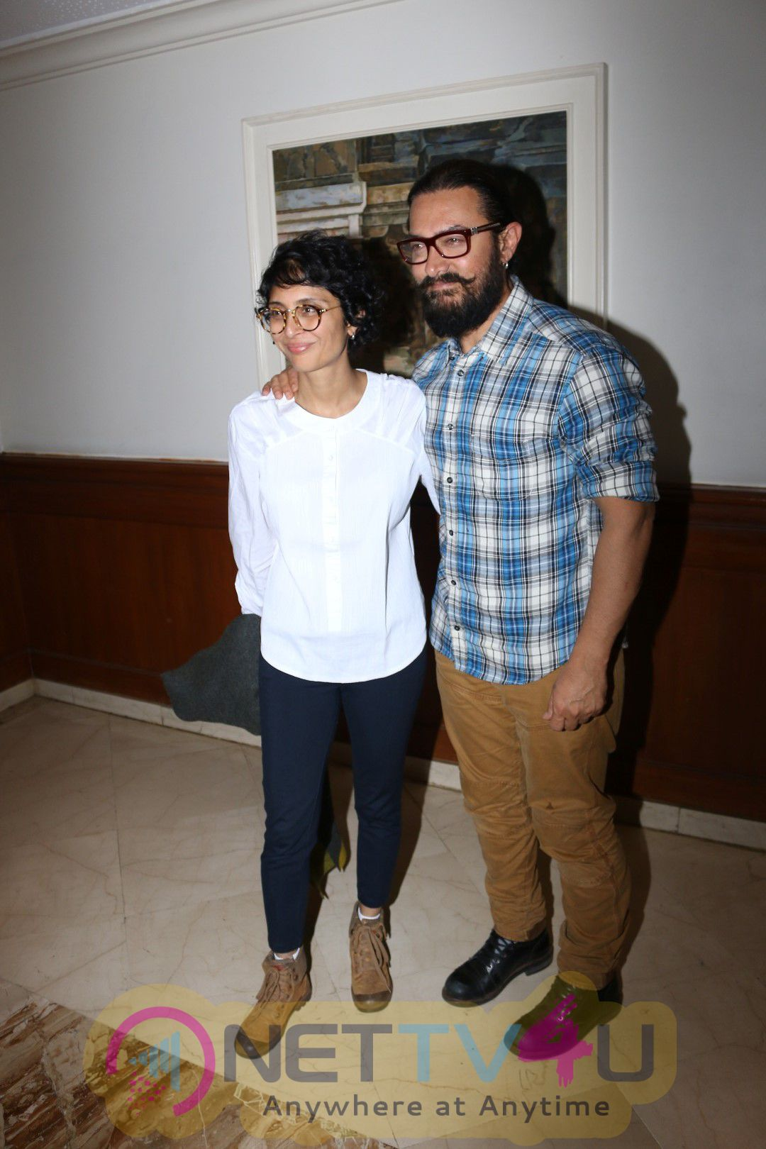 Announcement Of Satyamev Jayate Water Cup 2 With Aamir Khan, Kiran Rao & Devendra Fadnavis Photos