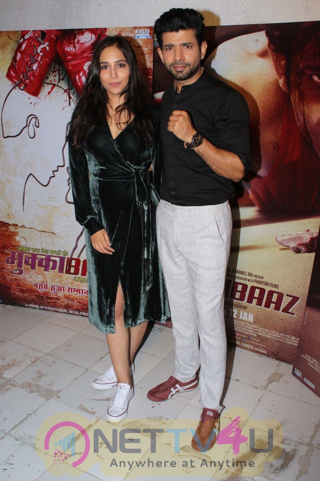 Mukkabaaz Cast Talk About The Movie Stills