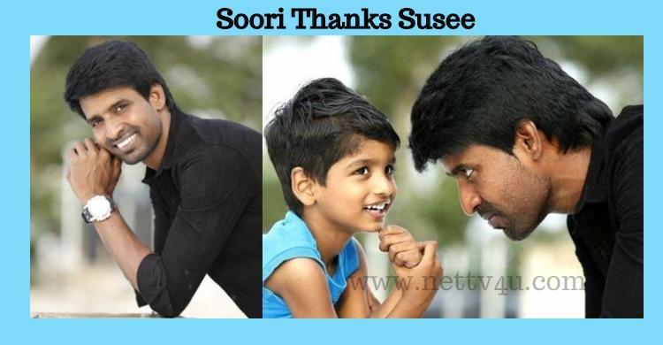 Soori Thanks Suseenthiran For Introducing His Son!