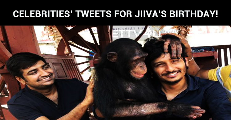 Celebrities' Tweets For Jiiva's Birthday!