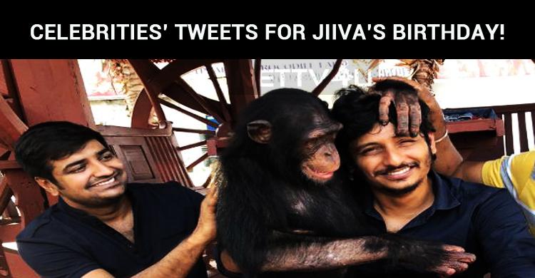 Celebrities' Tweets For Jiiva's Birthday!