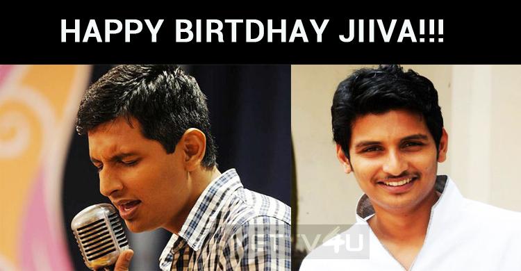 Jiiva Celebrates His Birthday Today!