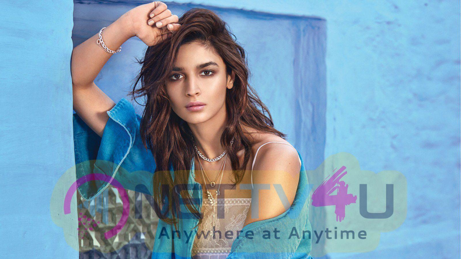 Alia Bhatt Poses For Vogue India Photos