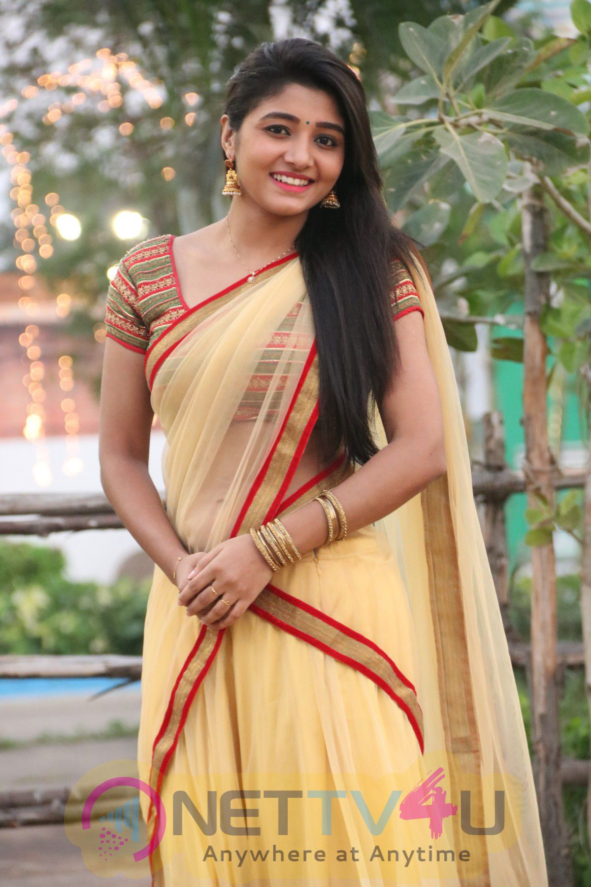 Charming Photos Of Actress Adhiti Menon Inagaurates 43rd India Tourism And Trade Fair Animal Kingdom In Chennai